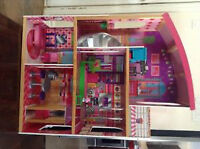 Barbie Dollhouse with furniture