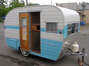 Looking for an old 2 person camper to convert into a place stati