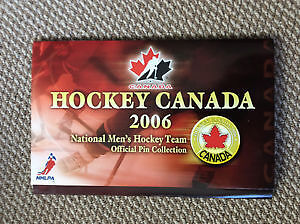 Hockey Canada 2006 National Men's Hockey Official Pin Collection