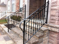Wrought Iron Exterior & Interior Railings & Gates