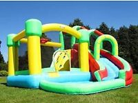 we are a new company the hires out bouncy castles