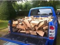 hardwood firewood logs free local delivery