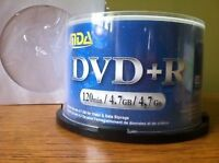 DVD +R full spindle