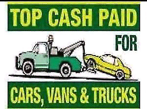 TOP DOLLAR PAID FOR SCRAP CARS,TRUCKS& SUV'S