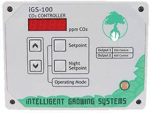 VGC Intelligent iGS-100 CO2 Controller +IGS-50 4-outlet,warranty