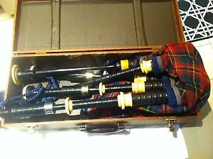 wanted bagpipes made in Scotland