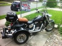 2001 Honda Shadow Spirit with Voyager Concersion Kit