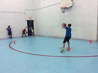 Basketball gym and ball hockey permits $25/hr!