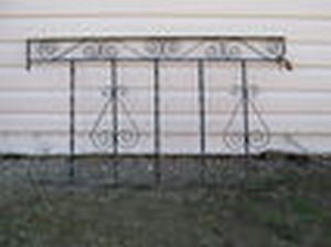 WROUGHT IRON RAILING-best resonable offer takes