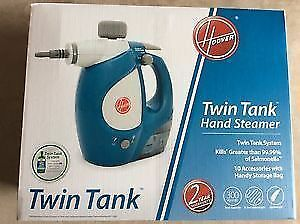 Hoover Twin Tank Multi-task Steam Cleaner (new in box paid $120)