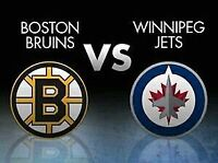 Looking for Jets vs Bruins Tickets for Thursday 2/11/2016