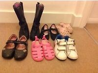 Big bundles of clothes and shoes 3-6 yrs old girl