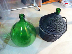 2 - 54 Litre Carboys with Basket, $60 obo