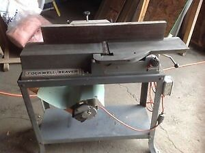 Rockwell Beaver Cast Iron – jointer/planner $300.00 or BO