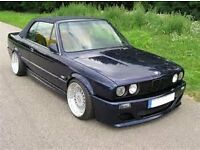 BMW E30 in need of restoration