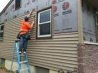I am looking for specialist to install vinyl siding