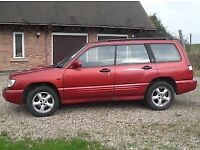 Subaru Forester S Turbo AWD 2.0 2001. New tyres and radiator last year, stainless steel exhaust