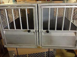 Police K9 Aluminum Dog Cage Box Insert Welded