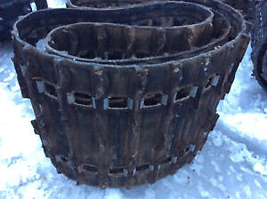 need pair of old snowmobile tracks