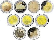 2 Euro Gedenkmünzen Deutschland