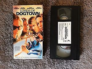 LORDS OF DOGTOWN 2005 SKATEBOARDING VHS RARE