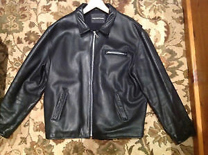 ***Rugby North America Leather Jacket***