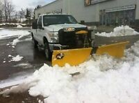 Snowbank Plowing - snow plowing services available this winter!