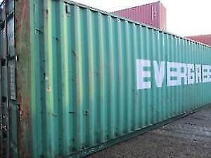 40' HC Steel Shipping Container Needs TLC Discounted!