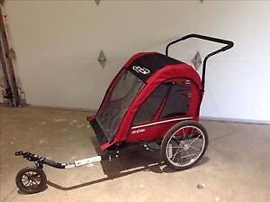 CCM bike trailer from Canadian Tire