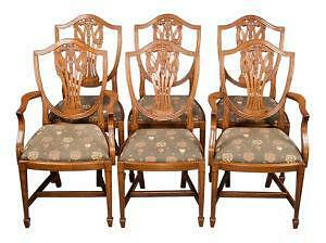 Superbe Antique Mahogany Dining Chairs