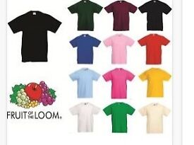 Job lot of 1000 T-Shirts lots colours and sizes . Real good quality .