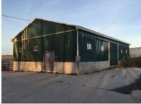 Outdoor ,indoor parking ,40' storage container for rent in Oshaw