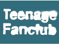 Teenage fanclub tickets X2