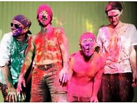 UNDER FACE VALUE 1 x Chili peppers, Thursday 8th Dec at the Hydro