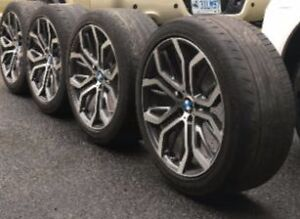 4 BMW Replica Rims With Tires