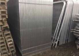 New Round Top Heras * Temporary Security Fencing Sets * X 35