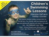 Splish n Splash Swimming Lessons for all ages