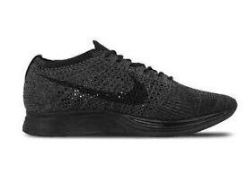 Nike flyknit racer Midnight triple black