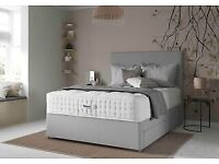 LEATHER, FABRIC OR SUEDE DIVAN BED SETS