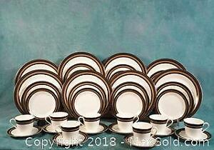 VINTAGE Royal Doulton Cadenza FULL SET for 8 Dinner