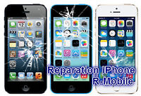 Reparer iPhone6+/6/5/4 iPod touch,vitre,Lcd,screen repair unlock