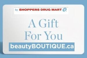 Shoppers Drugmart Gift Card