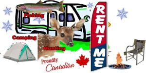 Travel Trailer For Rent for Hunting