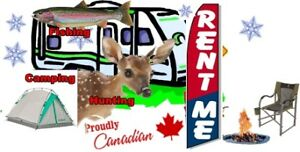 Travel Trailer For Rent for your Hunting Trip
