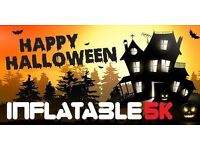 HALLOWEEN INFLATABLE 5K OBSTACLE COURSE