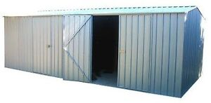 Absco Workshop Garden Storage Shed 6m x 3m Colorbond or Zincalume 60303WK
