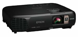 """New Epson Widescreen HD HDMI Projector with 6"""" Ceiling Mount"""