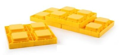 Camco 44501 RV Leveling Blocks - 4 Pack