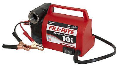 Fill Rite Diesel Fuel Transfer Dc Pump Portable 12-volt