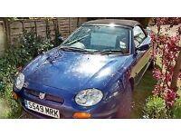 OPEN TO OFFERS. MG MGF 1.8i VVC CONVERTIBLE, GREAT VALUE SOFT TOP
